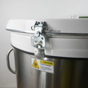 CBS V3000-AB Liquid Nitrogen Freezer With 2301 Controller